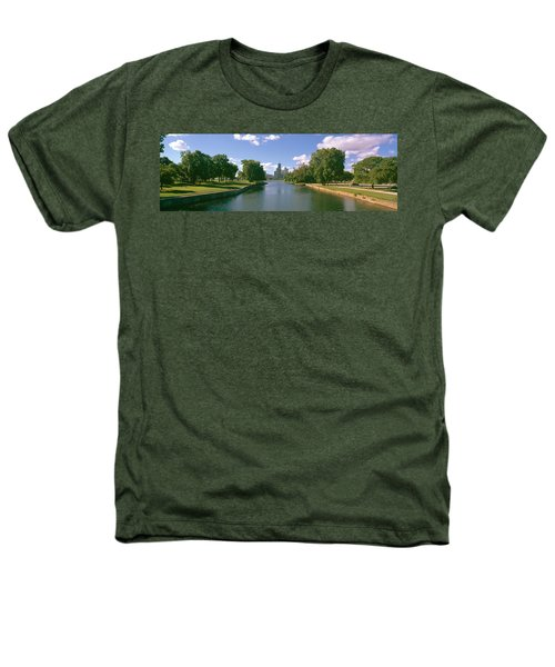 Chicago From Lincoln Park, Illinois Heathers T-Shirt by Panoramic Images