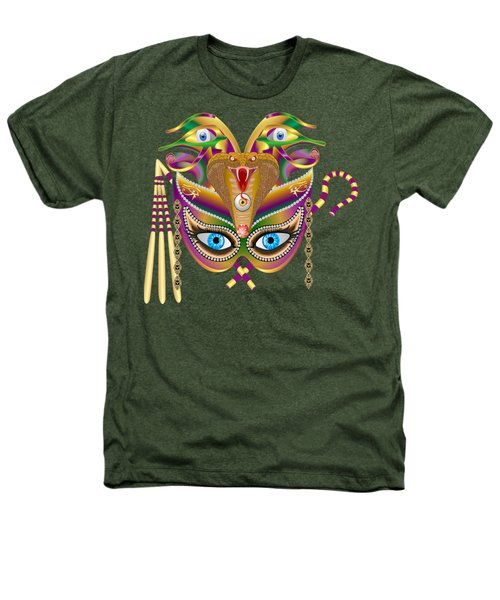 Cleopatra Viii For Any Color Products But No Prints Heathers T-Shirt by Bill Campitelle