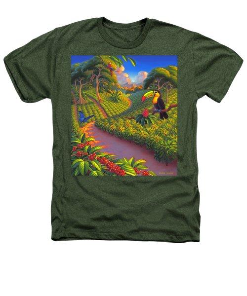 Coffee Plantation Heathers T-Shirt