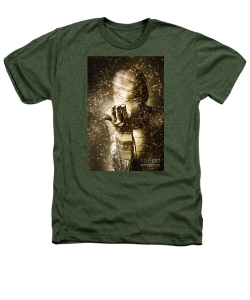 Curse Of The Mummy Heathers T-Shirt by Jorgo Photography - Wall Art Gallery