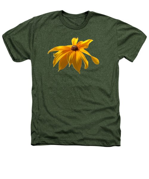 Daisy - Flower - Transparent Heathers T-Shirt by Nikolyn McDonald