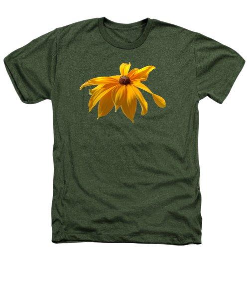 Daisy - Flower - Transparent Heathers T-Shirt