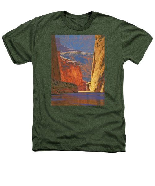 Deep In The Canyon Heathers T-Shirt by Cody DeLong