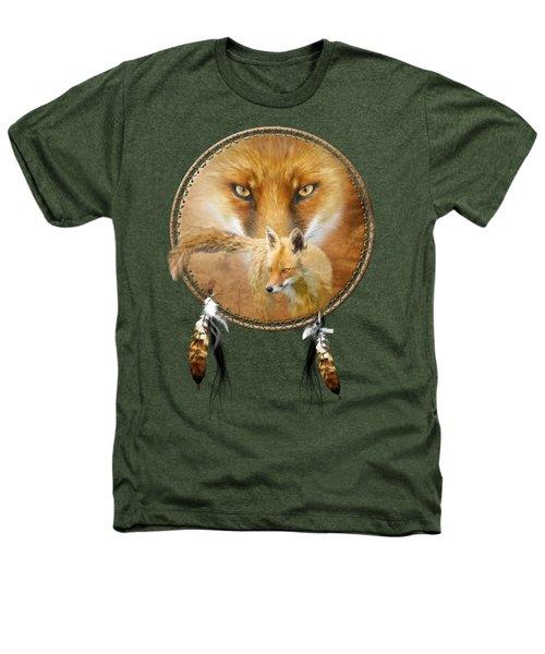 Dream Catcher- Spirit Of The Red Fox Heathers T-Shirt