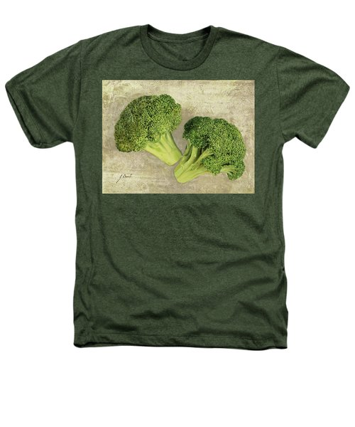 Due Broccoletti Heathers T-Shirt by Guido Borelli