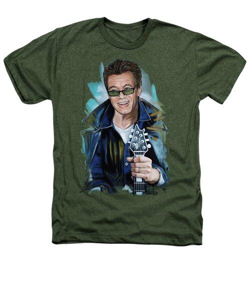 Eddie Van Halen Heathers T-Shirt by Melanie D
