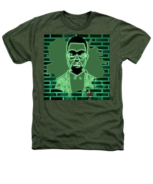 Electric Kanye West Graphic Heathers T-Shirt by Dan Sproul