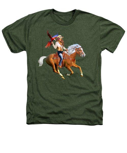 Enchanted Jungle Rider Heathers T-Shirt