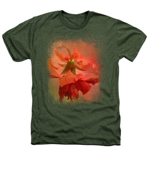 Falling Blossom Heathers T-Shirt by Jai Johnson
