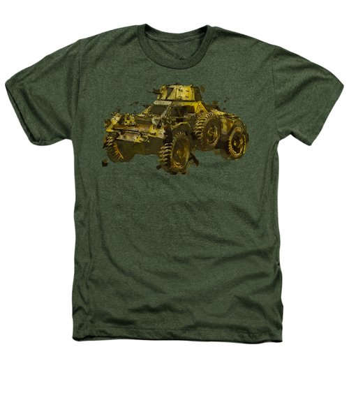 Ferret Scout Car Heathers T-Shirt