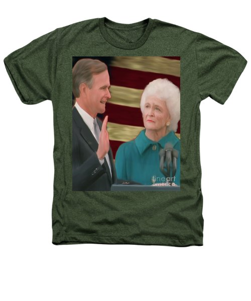George Hw Bush Inauguration  Heathers T-Shirt by Jack Bunds