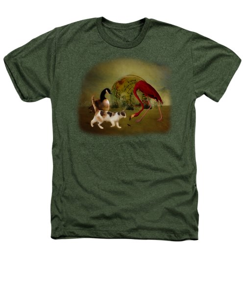 Global Initiative Heathers T-Shirt by Terry Fleckney