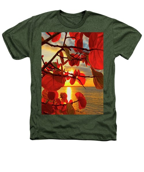Glowing Red Heathers T-Shirt