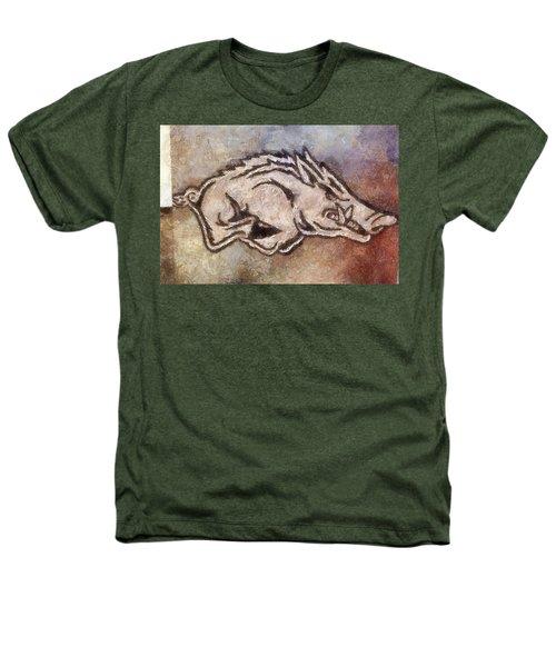 Go Hogs Go  Heathers T-Shirt