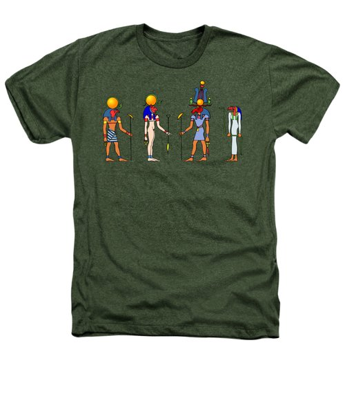 Gods And Goddess Of Ancient Egypt Heathers T-Shirt