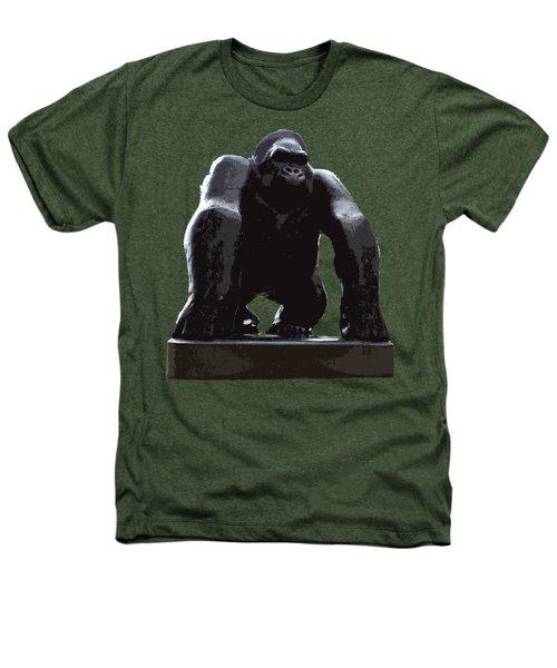 Gorilla Art Heathers T-Shirt by Francesca Mackenney