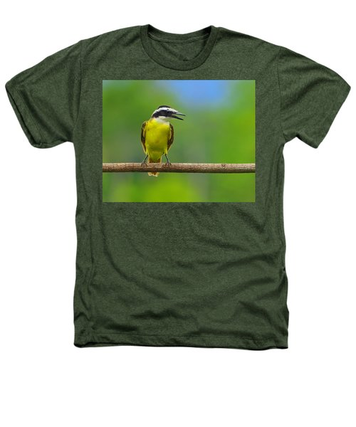 Great Kiskadee Heathers T-Shirt by Tony Beck