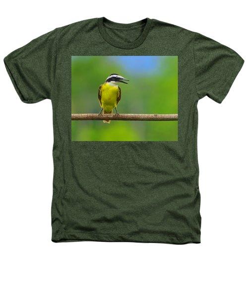 Great Kiskadee Heathers T-Shirt by Tony Beck