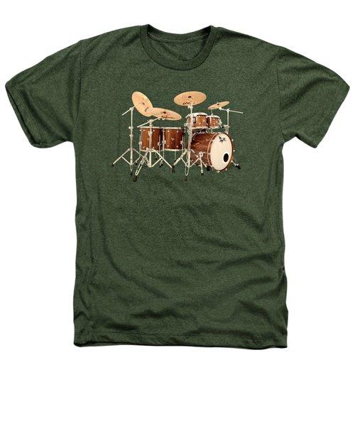 Hendrix  Drums Heathers T-Shirt by Shavit Mason