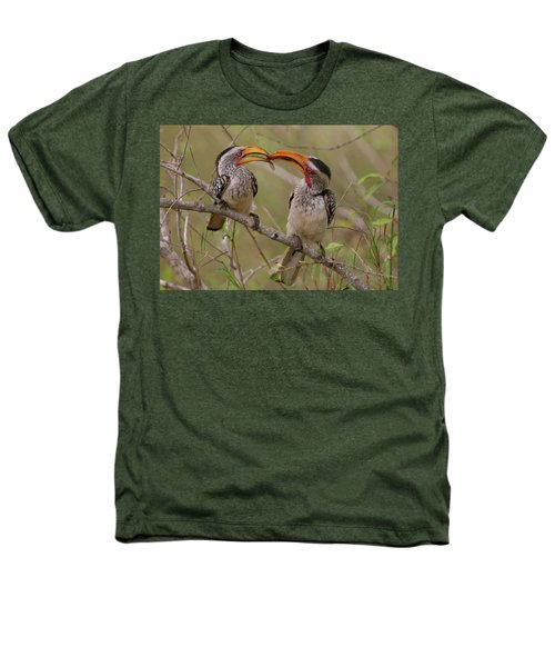 Hornbill Love Heathers T-Shirt by Bruce J Robinson