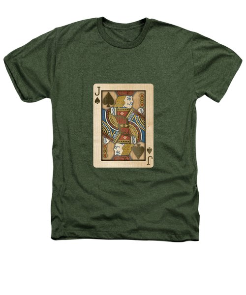 Jack Of Spades In Wood Heathers T-Shirt
