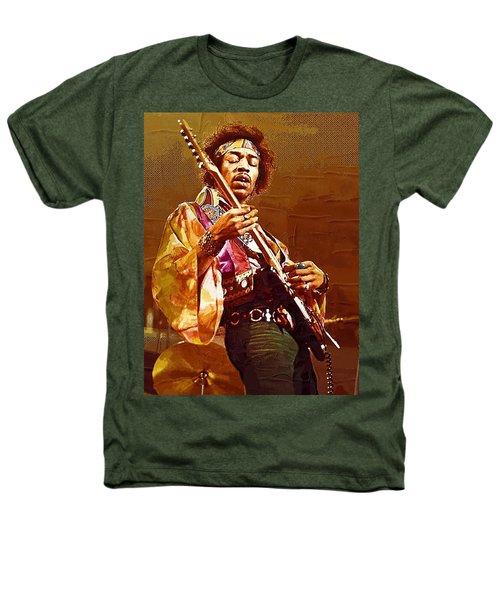 Jimi Hendrix Art Heathers T-Shirt
