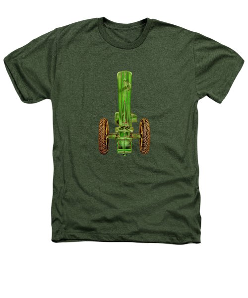 John Deere Top On Black Heathers T-Shirt