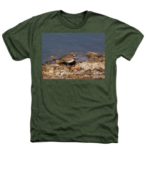 Kildeer On The Rocks Heathers T-Shirt