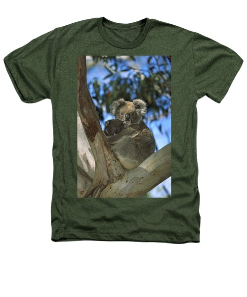 Koala Phascolarctos Cinereus Mother Heathers T-Shirt by Konrad Wothe