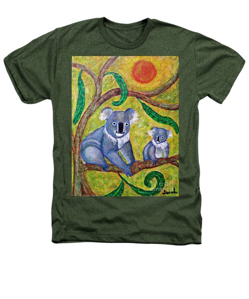 Koala Sunrise Heathers T-Shirt