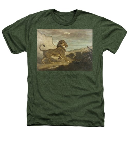 Lion And Python Heathers T-Shirt