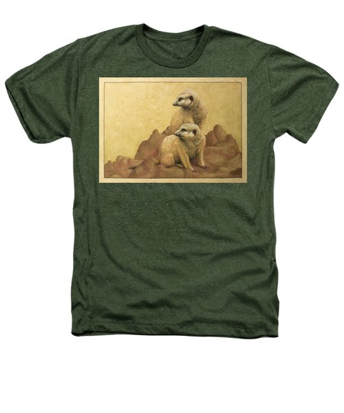 Lookouts Heathers T-Shirt by James W Johnson