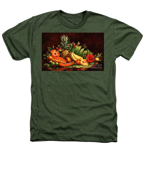 Lots Of Fruit Heathers T-Shirt by Laurie Hein