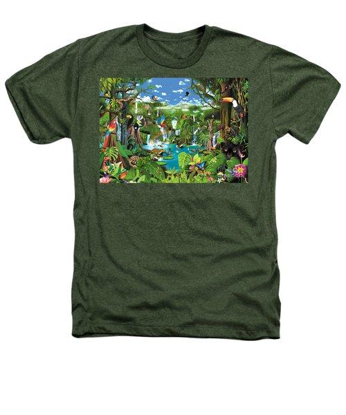 Magnificent Rainforest Heathers T-Shirt