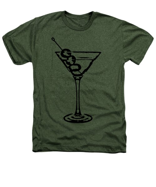 Martini Glass Tee Heathers T-Shirt