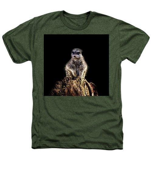 Meerkat Lookout Heathers T-Shirt