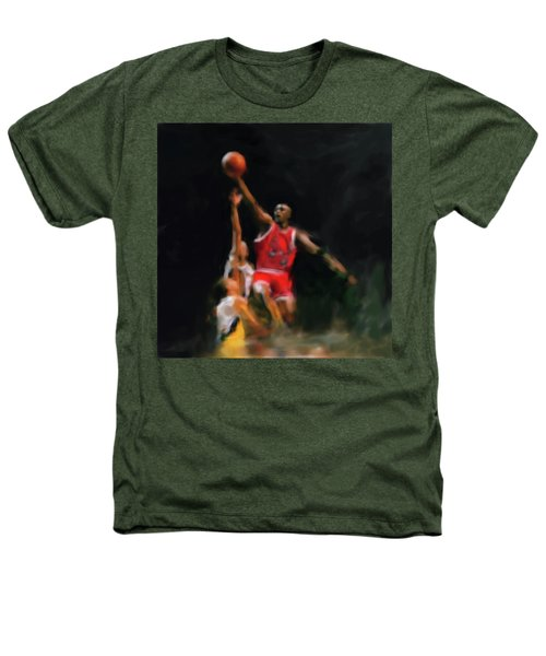 Michael Jordan 548 1 Heathers T-Shirt