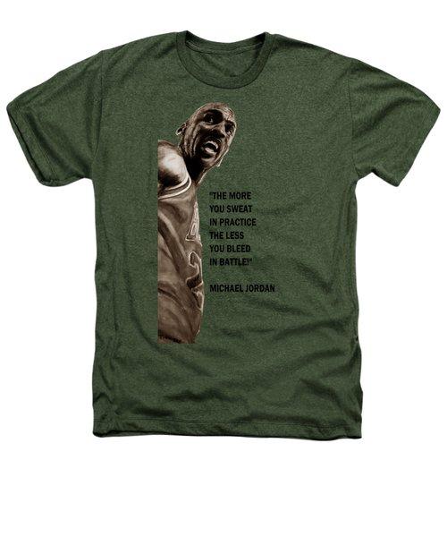 Michael Jordan - Practice Heathers T-Shirt