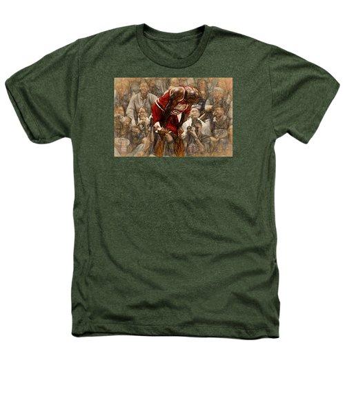 Michael Jordan The Flu Game Heathers T-Shirt