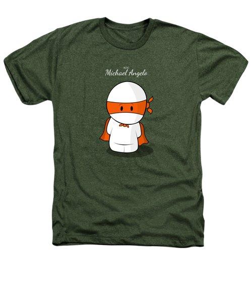 Mini Super Hero Heathers T-Shirt by Islam Hassan