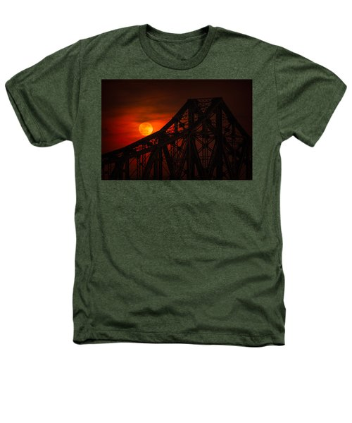 Moon Over The Bridge Heathers T-Shirt