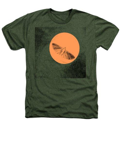 Moth In Orange Heathers T-Shirt by Sverre Andreas Fekjan