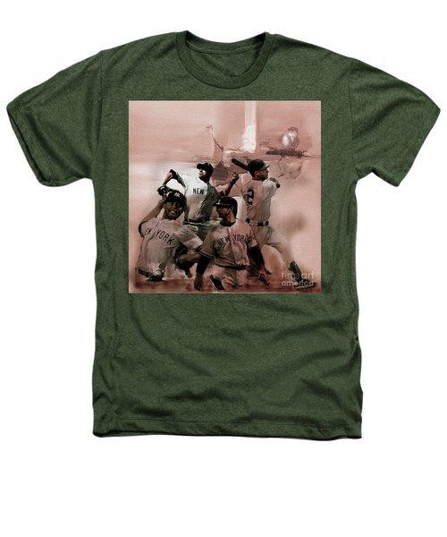 New York Baseball  Heathers T-Shirt by Gull G