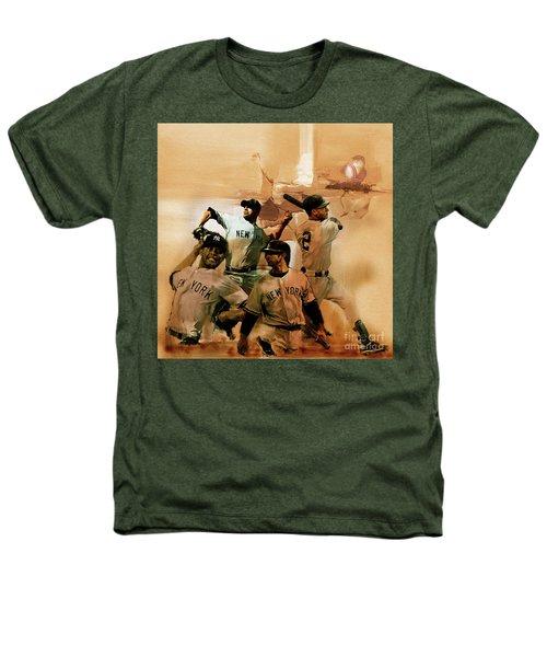 New York Yankees  Heathers T-Shirt by Gull G
