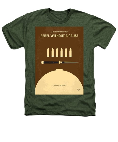 No318 My Rebel Without A Cause Minimal Movie Poster Heathers T-Shirt by Chungkong Art