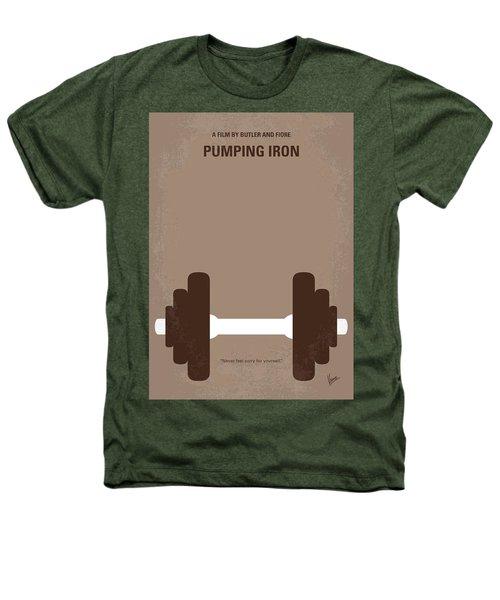 No707 My Pumping Iron Minimal Movie Poster Heathers T-Shirt by Chungkong Art