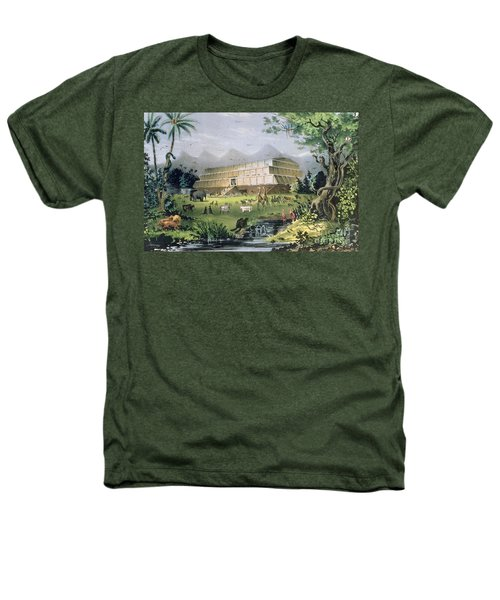 Noahs Ark Heathers T-Shirt by Currier and Ives