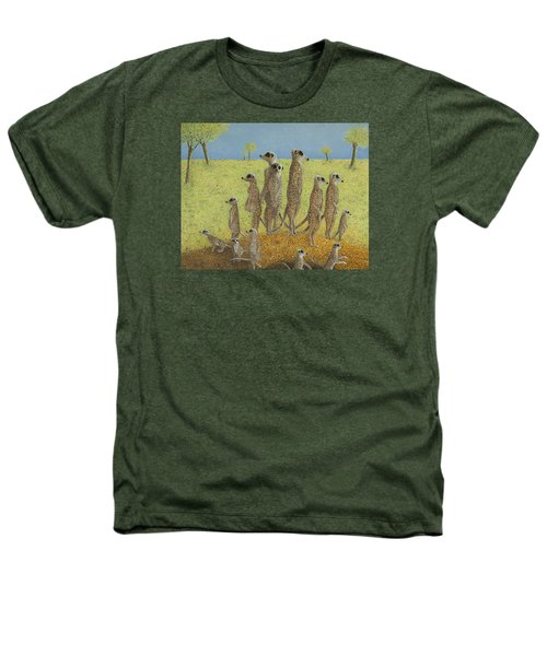 On The Lookout Heathers T-Shirt