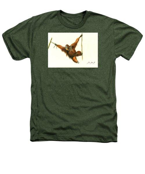 Orangutan Heathers T-Shirt by Juan Bosco