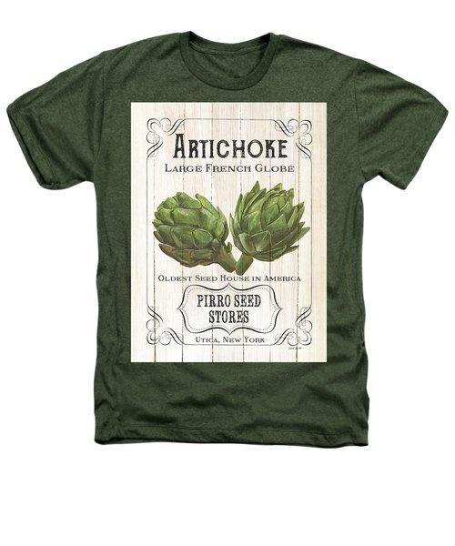 Organic Seed Packets 1 Heathers T-Shirt by Debbie DeWitt